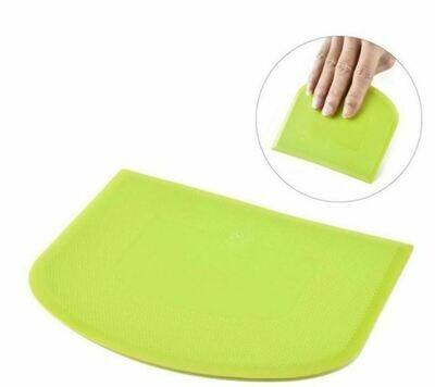 Green Dough Scraper
