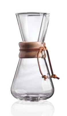 Three Cup Classic ChemEx Coffeemaker