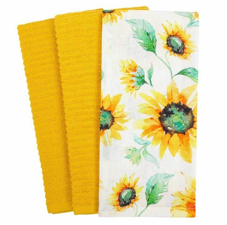 KAF Towels - Sunflowers