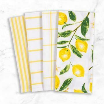 Kitchen Towel - Pantry Set of 4