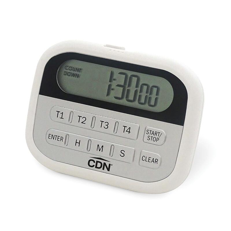 4 Event Kitchen Timer & Clock