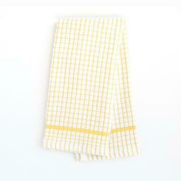 Grid Terry Kitchen Towel