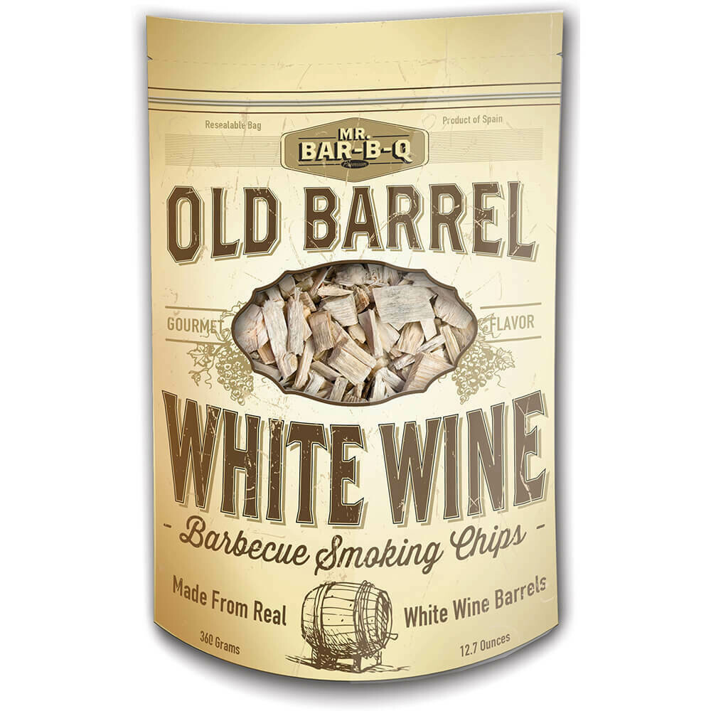 Old Barrel White Wine Barbecue Smoking Chips