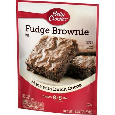BETTY CROCKER FUDGE BROWNIE MIX 10.25 OZ