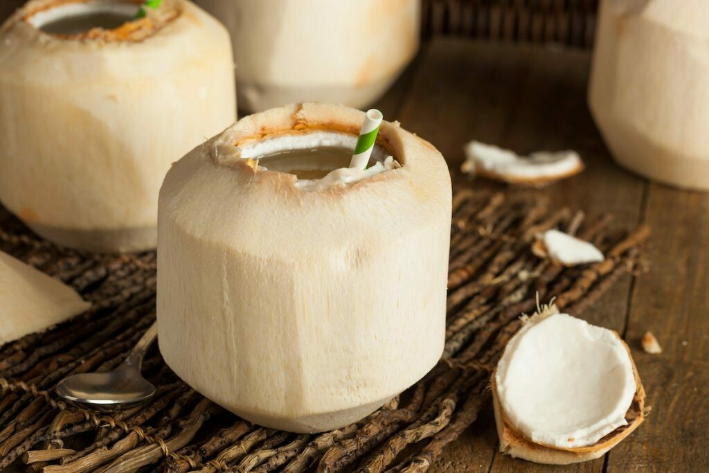 Fresh Young Thai Coconut