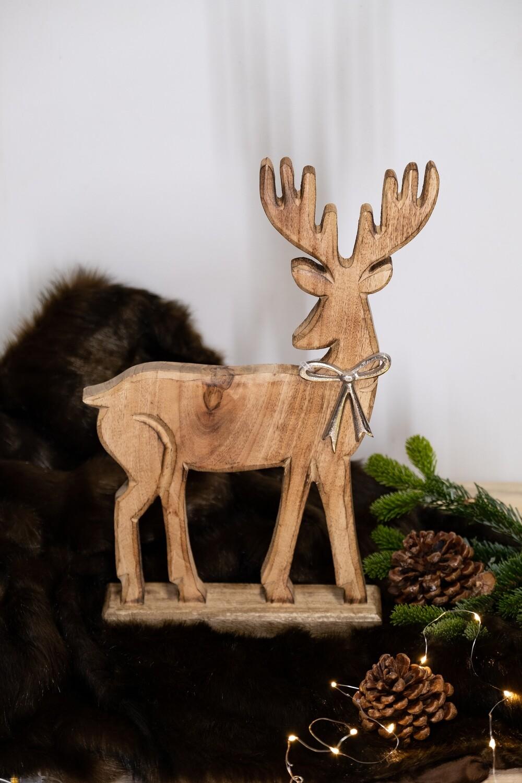 Cerf en bois (Grand)
