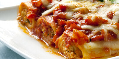Cannelloni di Carne (Meat) in Tomato Sauce & Cheese 350g c.
