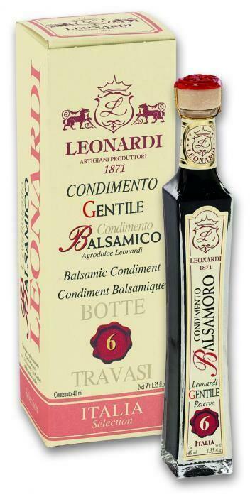 Balsamic Vinegar Leonardi 6 Years 40ml