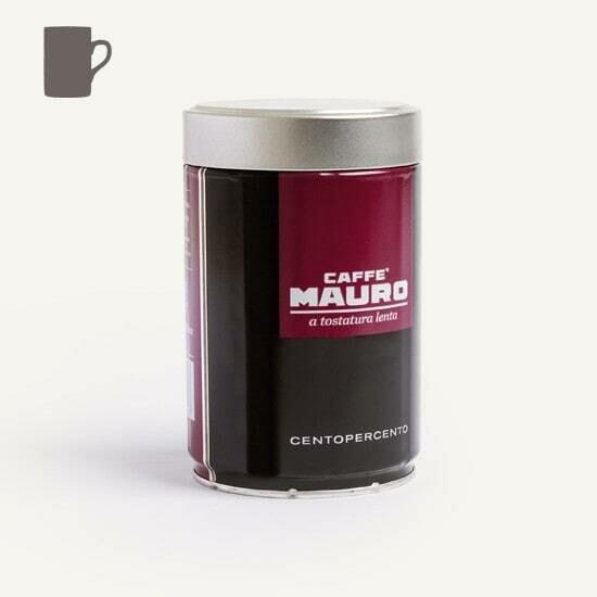 Caffè Mauro CENTOPERCENTO Ground Tin 250g