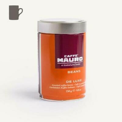 Caffè Mauro DE LUXE Beans Tin 250g