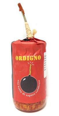 Ordigno Spicy Spread With Aubergine, Chilli And Sun-dried Tom 90g