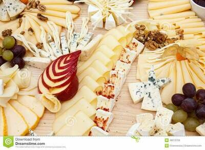 Selection of Mixed Cheese for 2 People