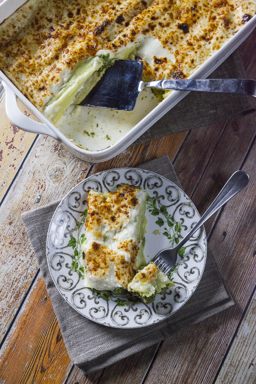 Cannelloni Spinach & Ricotta Tray for 6/7 People 2kg c.