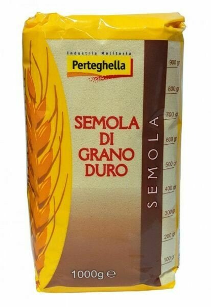 Durum Wheat Flour Tre Laghi 1kg