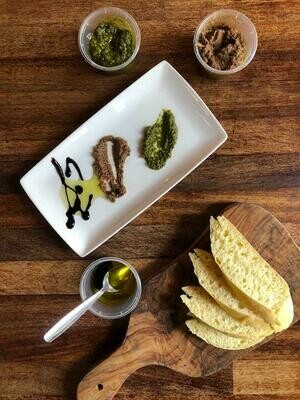 Trio of Antipasti Dips