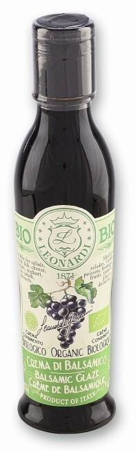 Organic Balsamic Glaze Leonardi 220ml