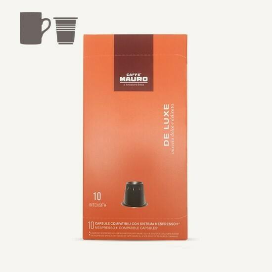 Caffe' Mauro DE LUXE Nespresso Capsules 10pc