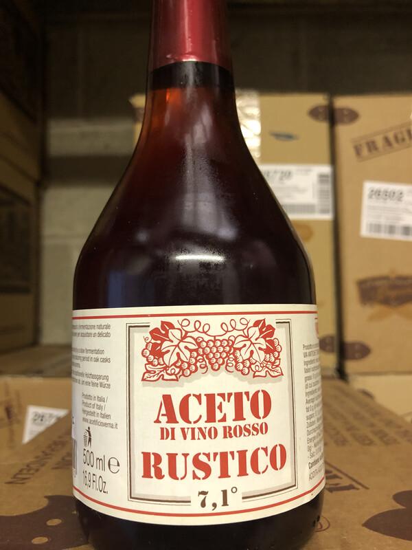 Italian Red Wine Vinegar 500ml