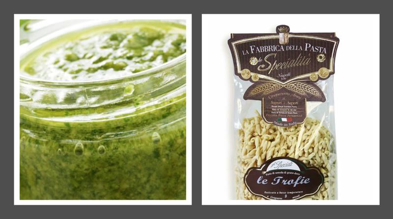 Trofie Pasta and Fresh Pesto Combo