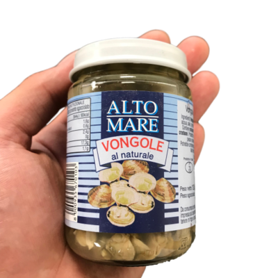 Clams, Vongole 130g