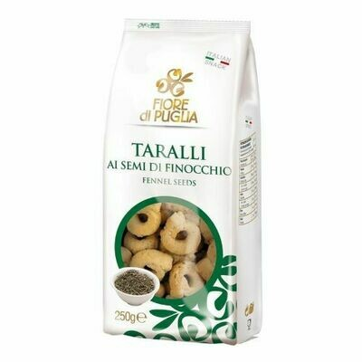 Taralli with Fennel Seeds 250g
