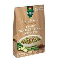 Red Quinoa Courgette and Spinach Risotto 175g