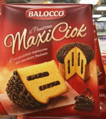 Chocolate Panettone Maxiciok 800g