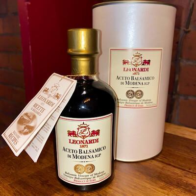 Balsamic Vinegar Of Modena Leonardi 4 Years 250ml