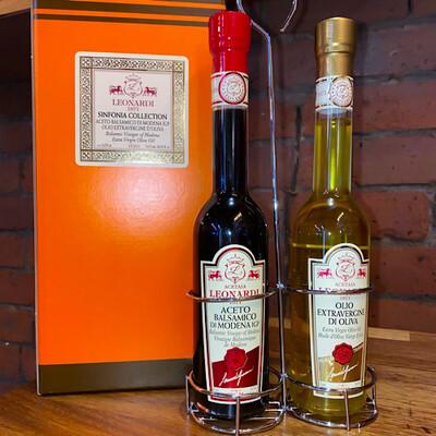 """""""Sinfonia"""" Balsamic Vinegar & Oil Set Leonardi - 2X250ML"""