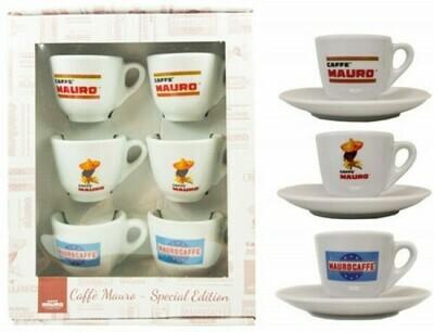 Retro Espresso Cup Set