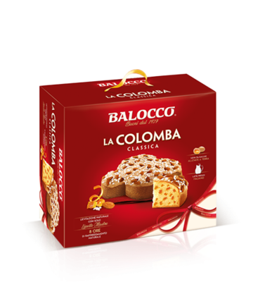 COLOMBA CLASSICA (Easter Cake) 1kg