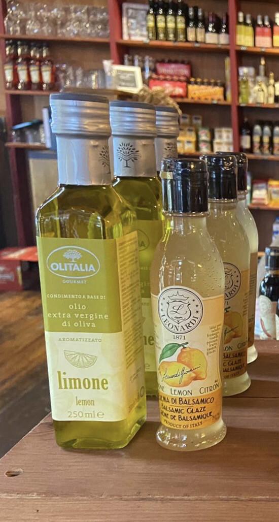 Lemon Condiment Set