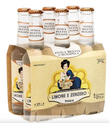 Six-Pack Lemon & Ginger Soda 33cl