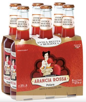 Six-Pack Aranciata Rossa Soda 33cl