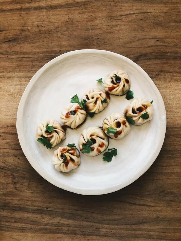 Pala's Momos – 10 Stück vegetarisch