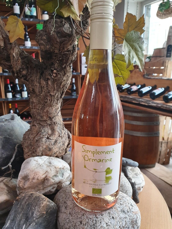 Simplement Ormarine Rosé 75 cl BIO
