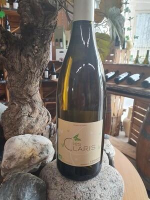 """Aop Languedoc """" Les Claris """" Blanc 75 cl"""