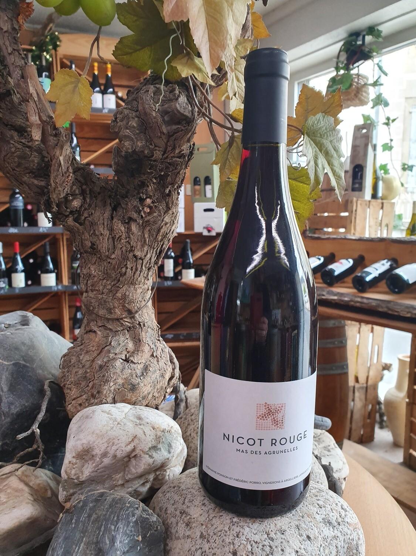 """Aop Languedoc Mas des Agrunelles """" Cuvée Nicot Rouge """"  Rouge 75 cl"""
