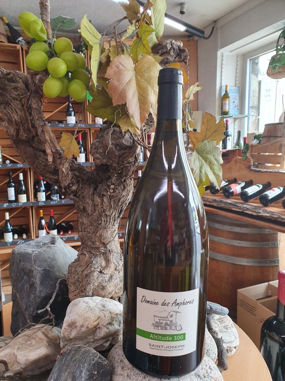 """Aop Saint Joseph """" Domaine des Amphores  """" Magnum Blanc 150 cl"""