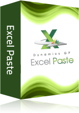 Dynamics GP Excel Paste