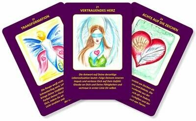 Herzwahrheiten von Claudia Ruhnau - 44 Impulskarten mit Anleitungsbuch