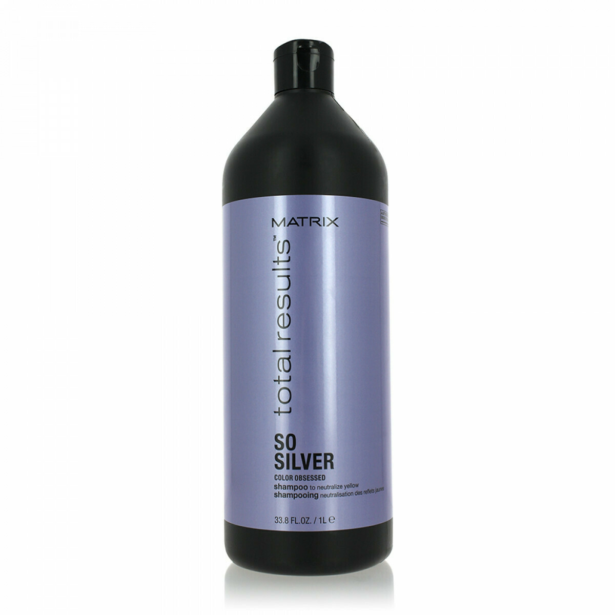 Shampoing neutralisant - 1000ml - So Silver, Total Results - Blonds et décolorés, Gris/blancs Matrix
