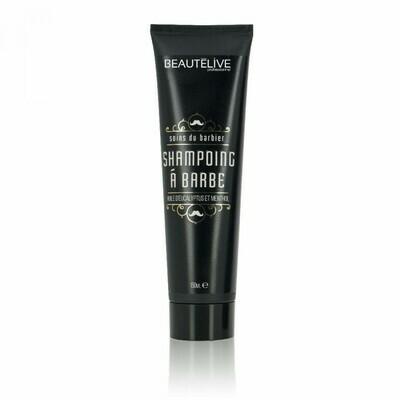 Shampoing à barbe - 150ml - Rafraîchissant Beautélive