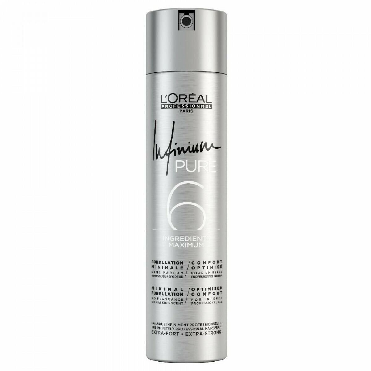 Laque Infinium Pure - 300ml - Infinium - Fixant souple L'Oréal Professionnel