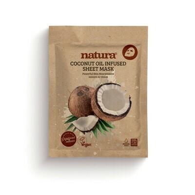 Masque visage vegan nourrissant à l'huile de coco - 20ml - Hydratation, Nutrition Beauty Pro