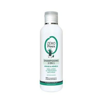 Shampoing 2en1 anti-poux - 200ml - Zéro poux