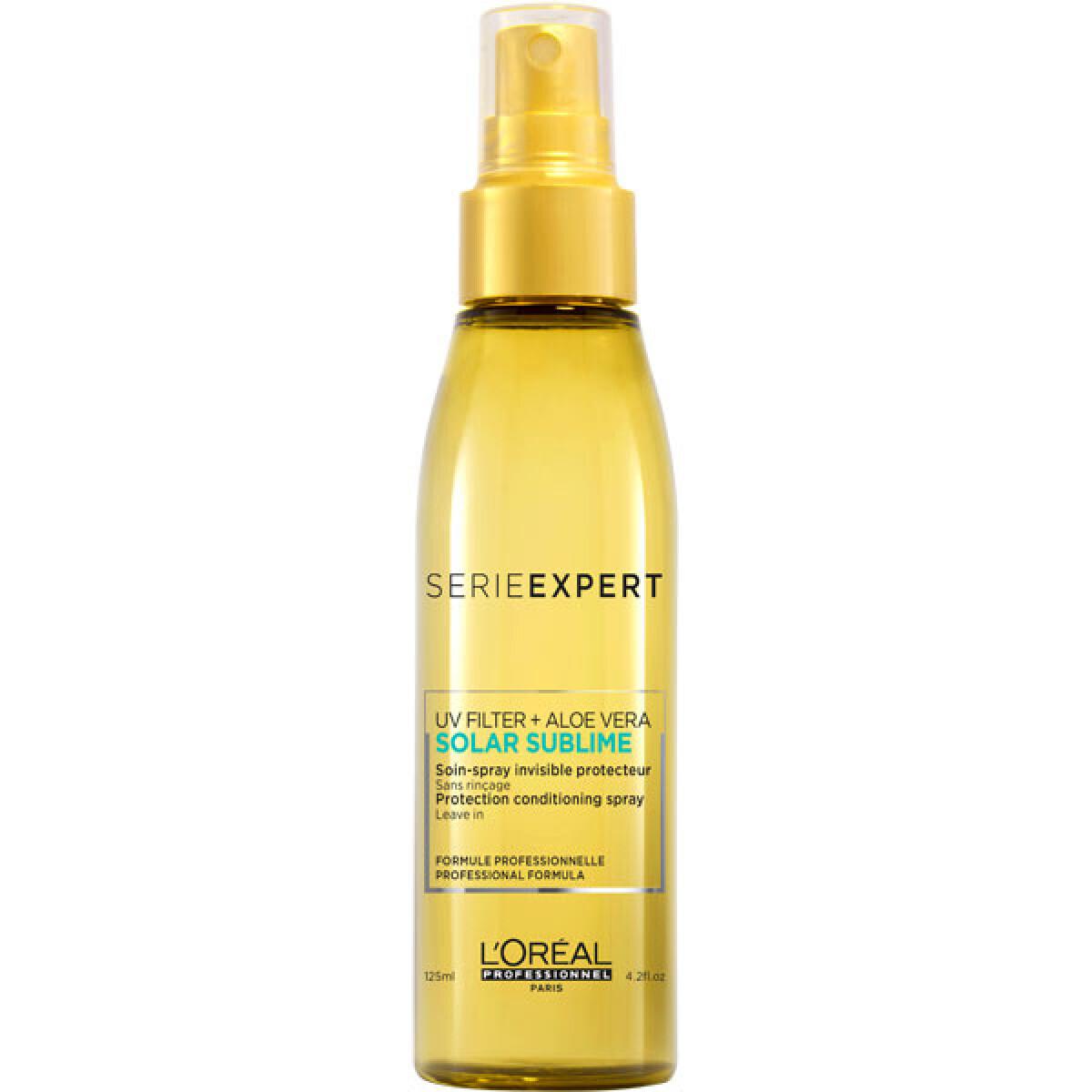 Soin spray invisible protecteur sans rinçage - 125ml - Solar Sublime - Secs et déshydratés L'Oréal Professionnel