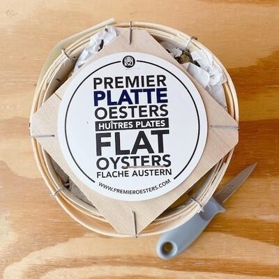NIEUW! Dozijn platte oesters