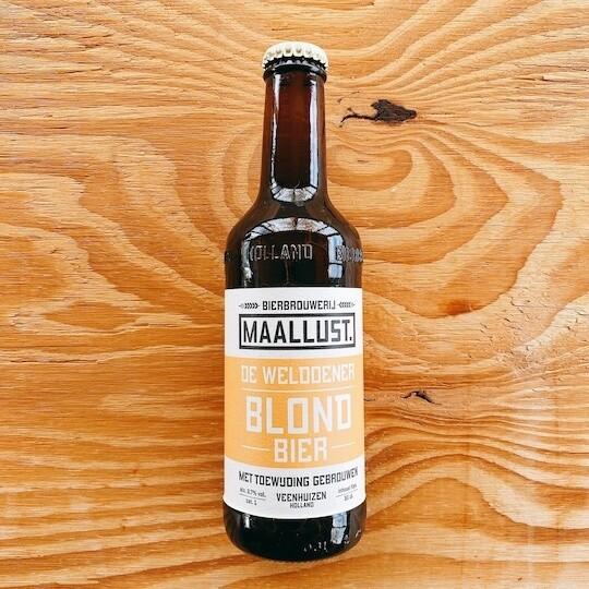 Maallust blond bier