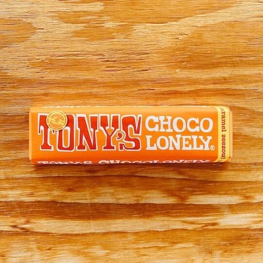 Tony's Chocolonely caramel-zeezout